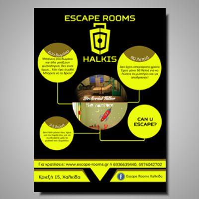 Escape rooms poster