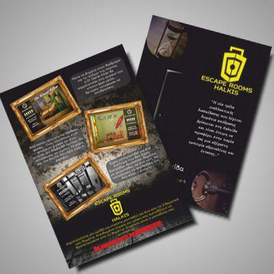 Escape room flyers